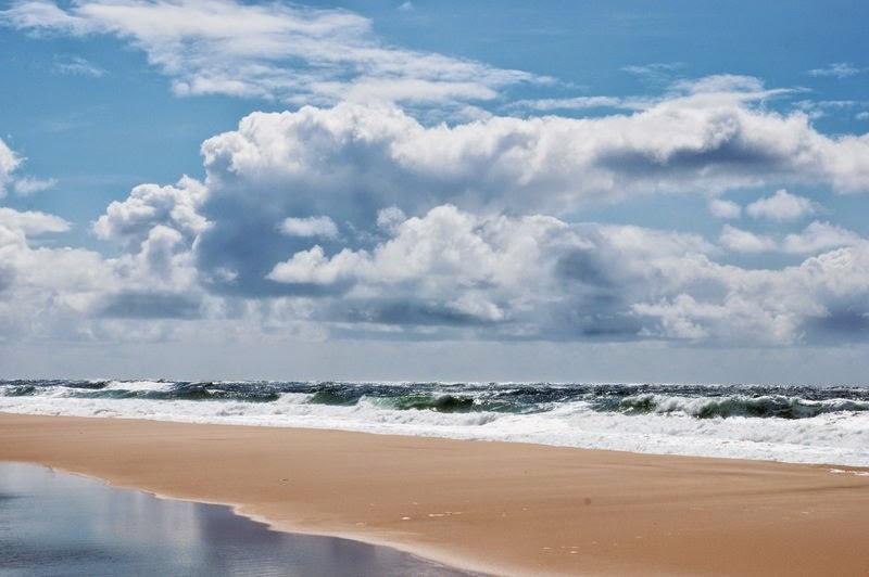 mer,nuage,reflet