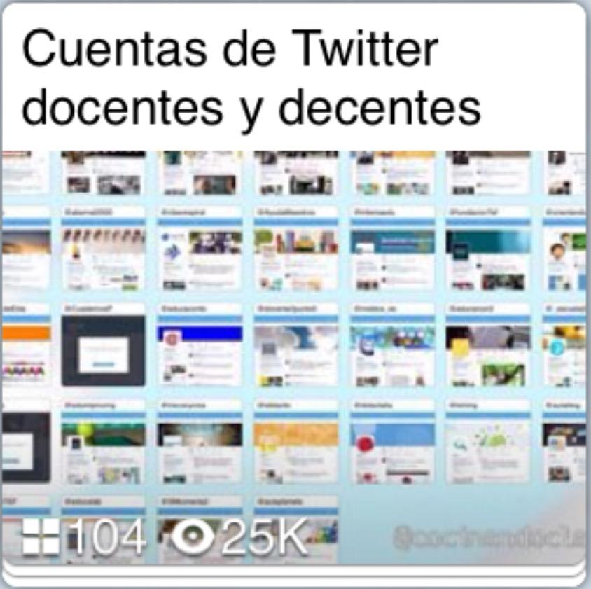 Educación en Twitter