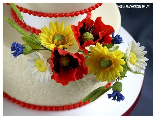Весільний торт від Уляни Коцаби, Івано-Франківськ