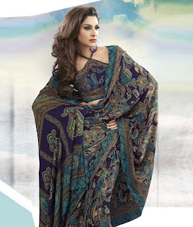 Saree Design For This Year Eid+(8) Eid Collection Saree Design