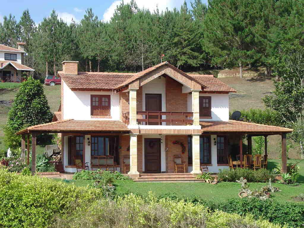 Casas extraordinarias casas de campo for Casa moderna en el campo