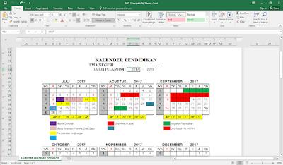 Aplikasi Kalender Pendidikan Otomatis