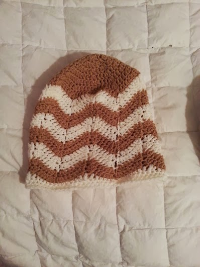 Crochet From J Chevron Beanie Pattern