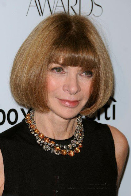 Fashion Junkie loves Anna Wintour's Georgian collet necklaces