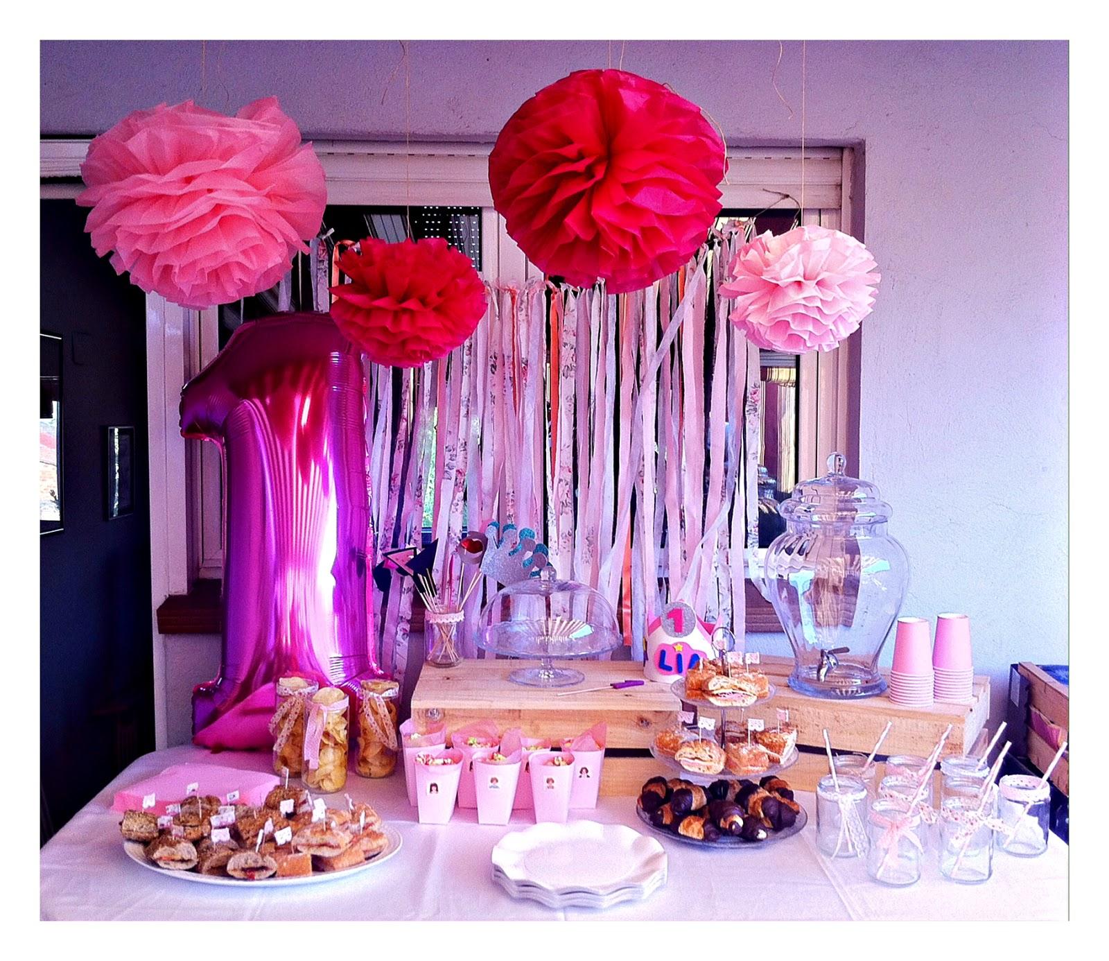We love parties bcn primer cumplea os de lia fiesta - Sorpresas romanticas para tu novio ...