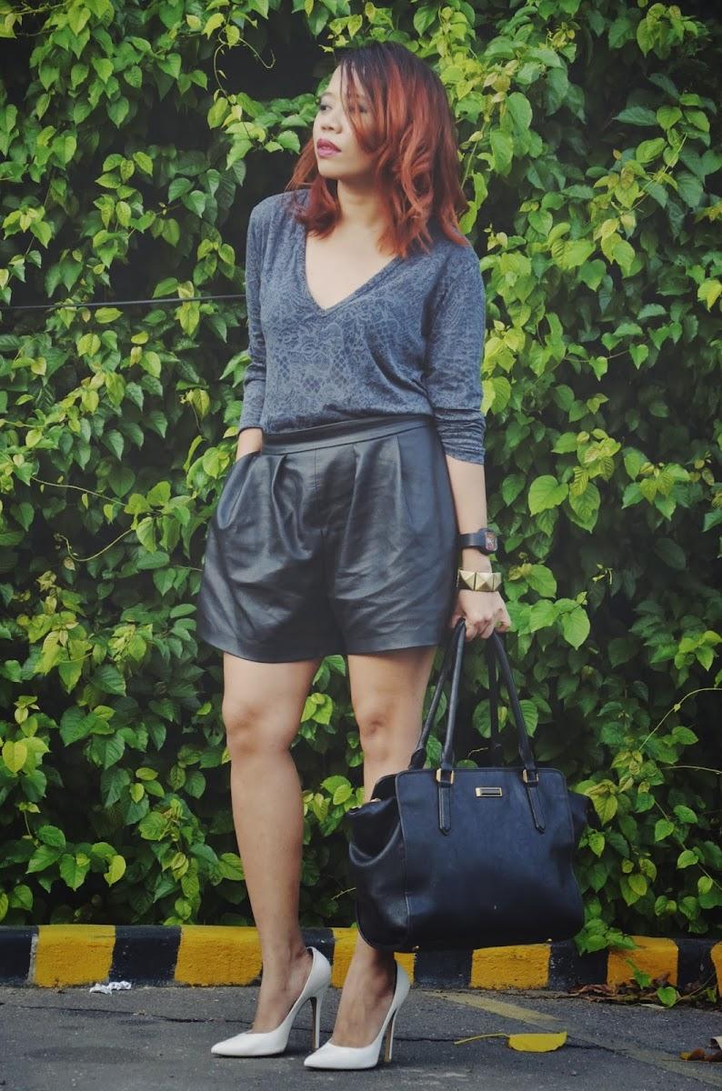 midwest fashion blogger, michigan fashion blogger, detroit fashion blogger, detroit bloggers, leather shorts, summer looks 2015