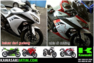cutting sticker ninja 250 injection