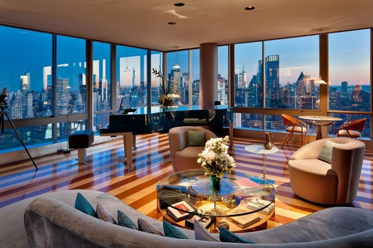 New york city luxury manhattan penthouses the gartner for Luxury apartments for sale nyc