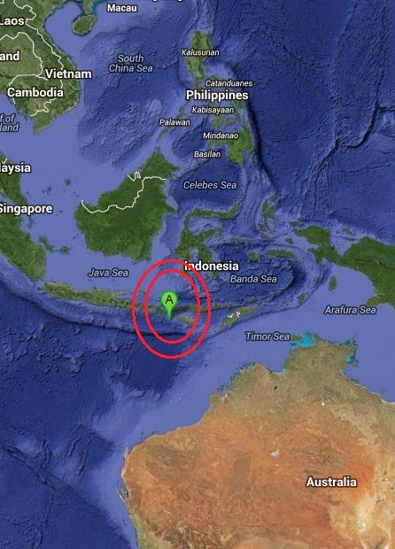 Magnitude 4.7 Earthquake of Dinjo, Indonesia 2014-09-10