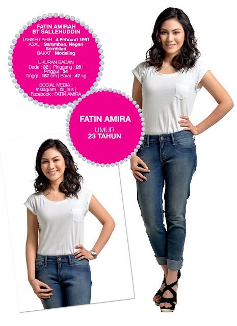 Profil Peserta Dewi Remaja 2014/2015 Fatin Amira