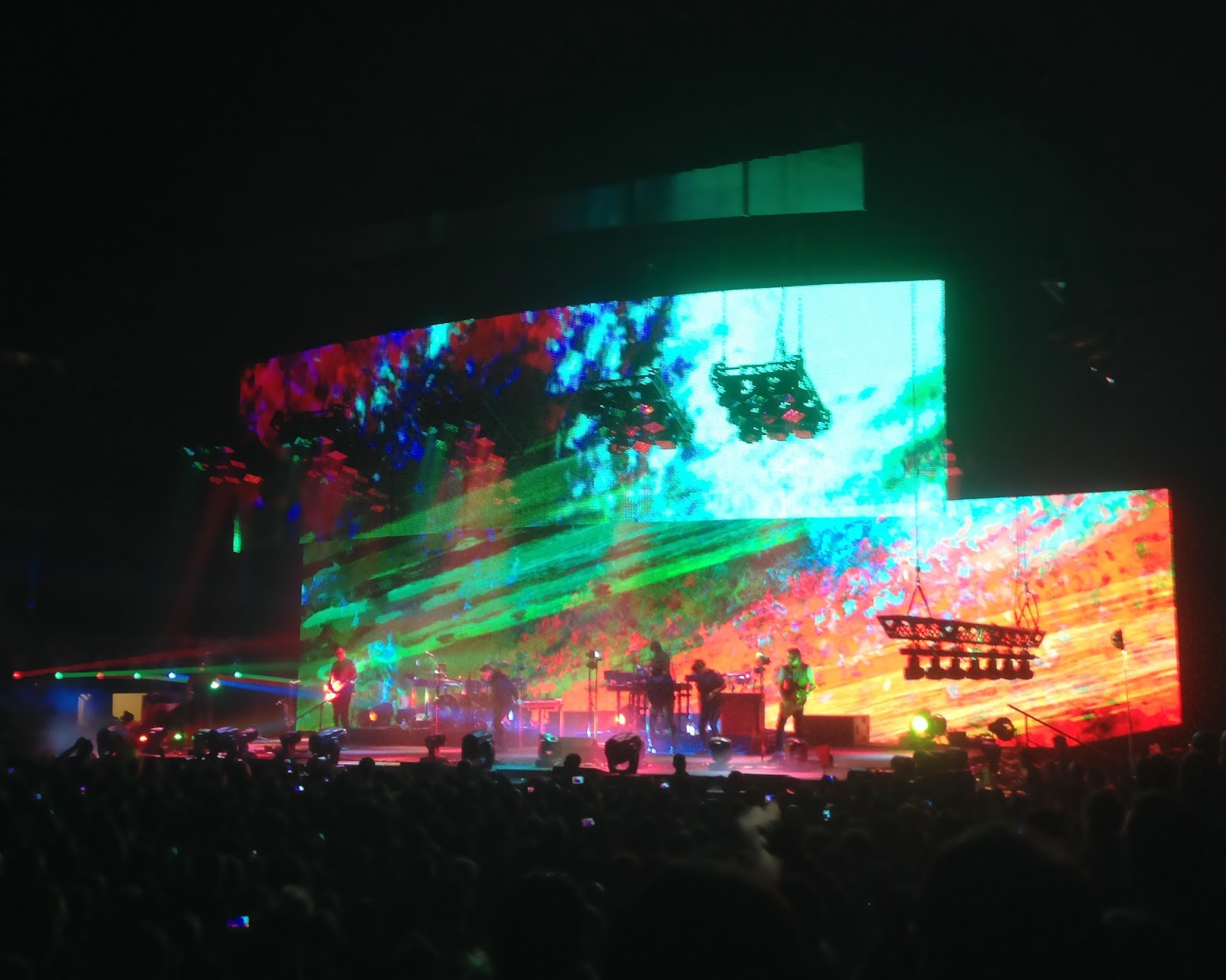 Nine Inch Nails in Orlando at Amway Center | Scorpyorising