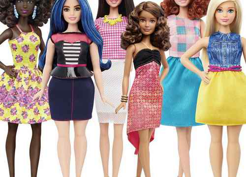 The New Barbie Is Body Positive (And Curvy!)