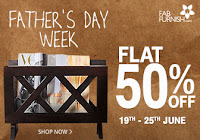 Father's Day Week- Everything At Flat 50% OFF