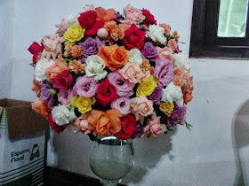 Arranjo Flores coloridas.