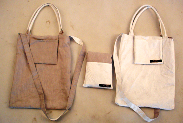 Zhang Na eco-bag on Design and fashion recipes