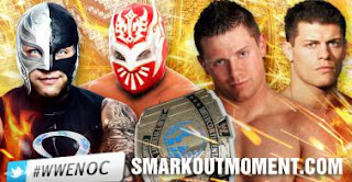 Watch Night of Champions 2012 PPV Miz vs Sin Cara vs Rey Mysterio vs Cody Rhodes IC Title