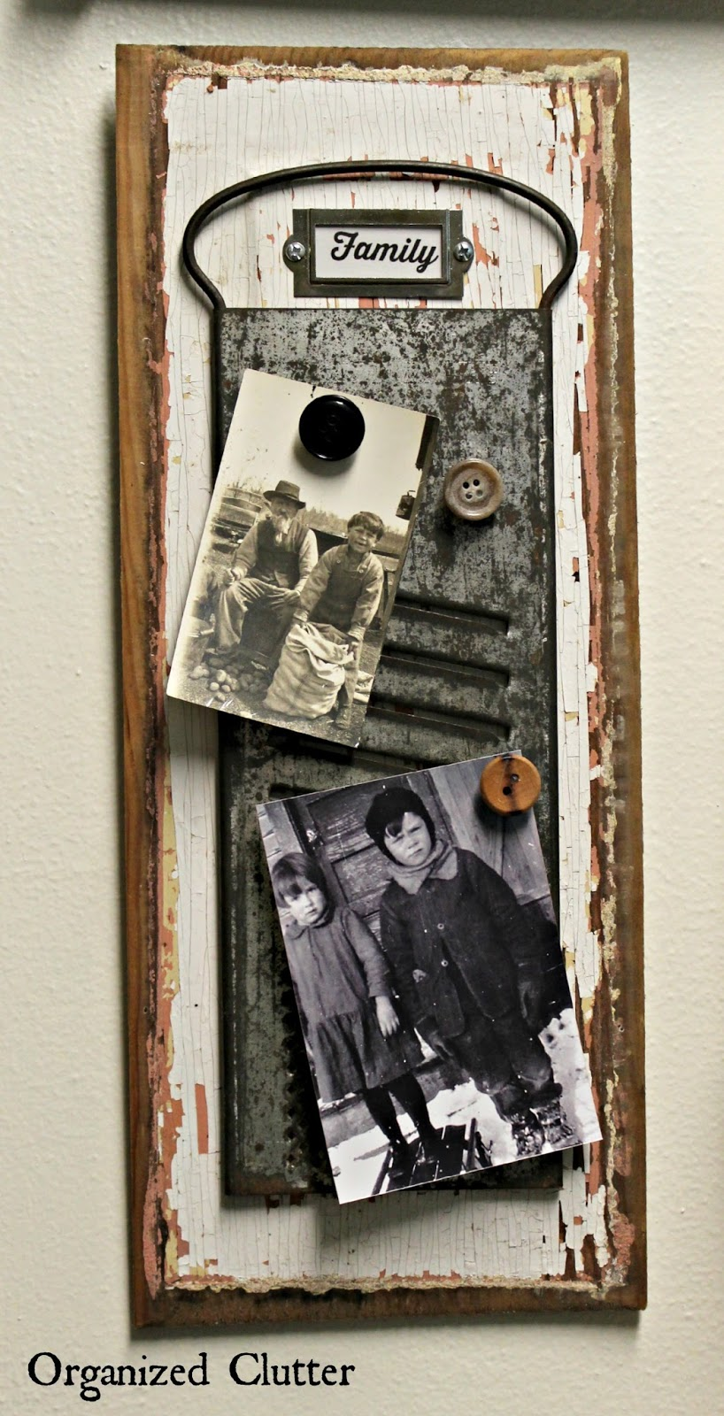 Kitchen Utensil Photo Display www.organizedclutter.net