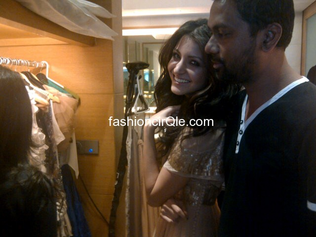 Anushka Sharma behind the scenes - (2) - Anushka Sharma for Filmfare Photoshoot Very Private PICS!