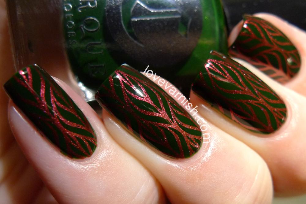 Love Varnish: Nail art // HPB presents Autumn Leaves!