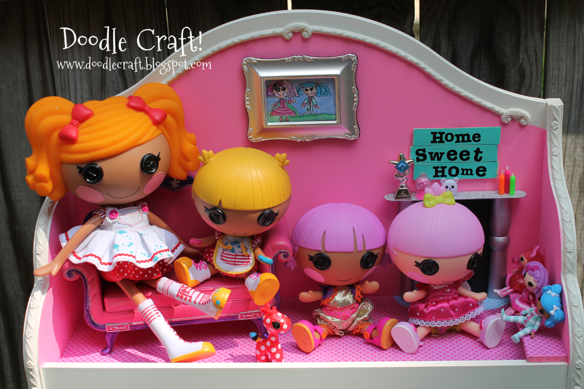 how to make a lalaloopsy doll house