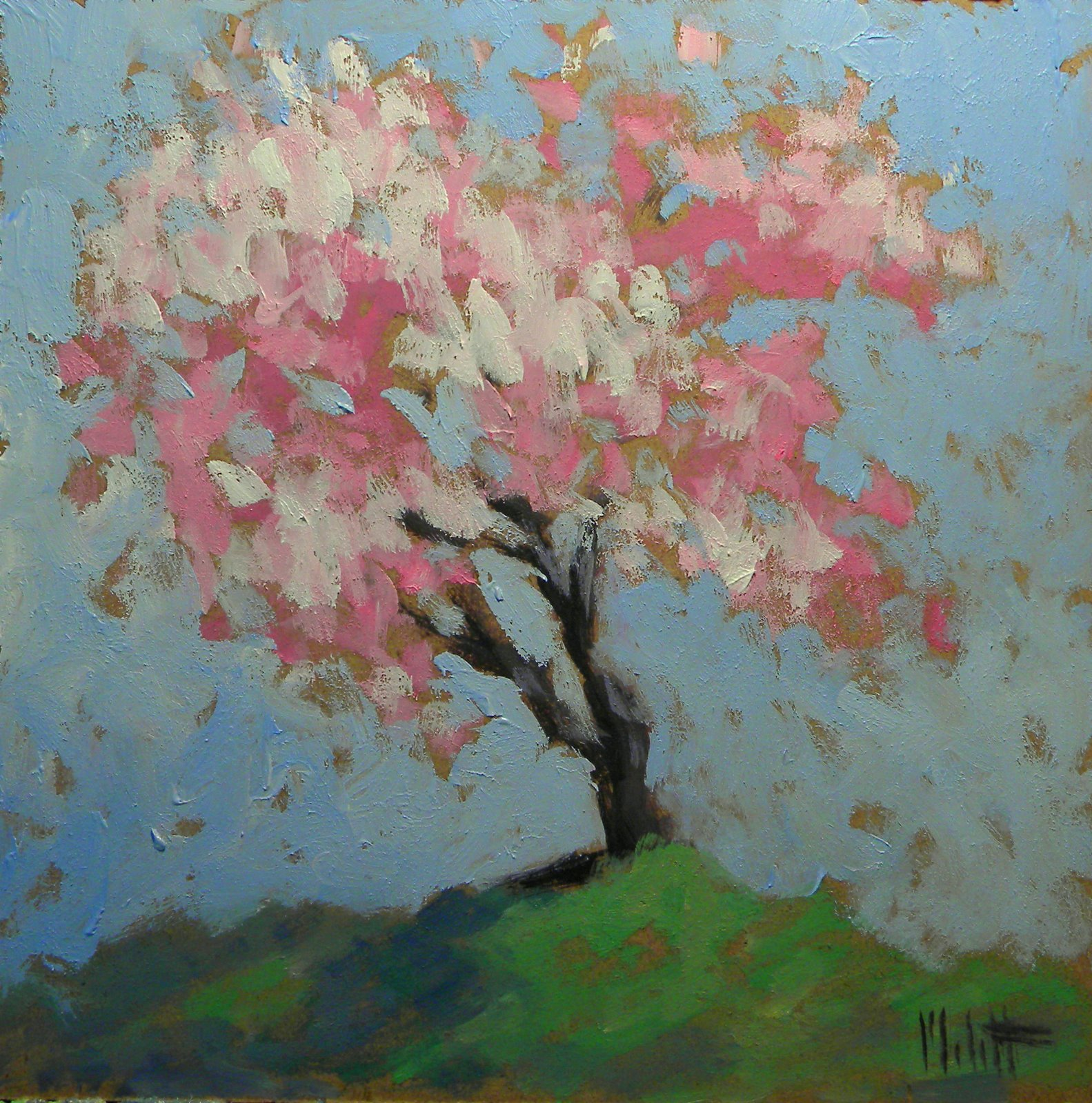 A fresh beginning for Spring canvas paintings