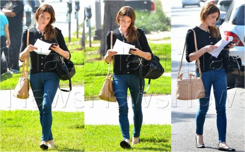 Ashley Greene in STRÖM Elva Nova Skinnies