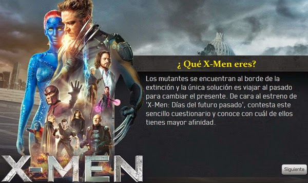 Friki test ¿Qué X-Men eres?