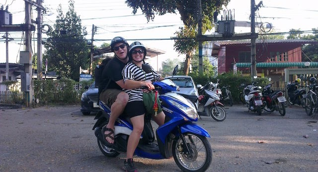 Motorcycling Chiang Mai