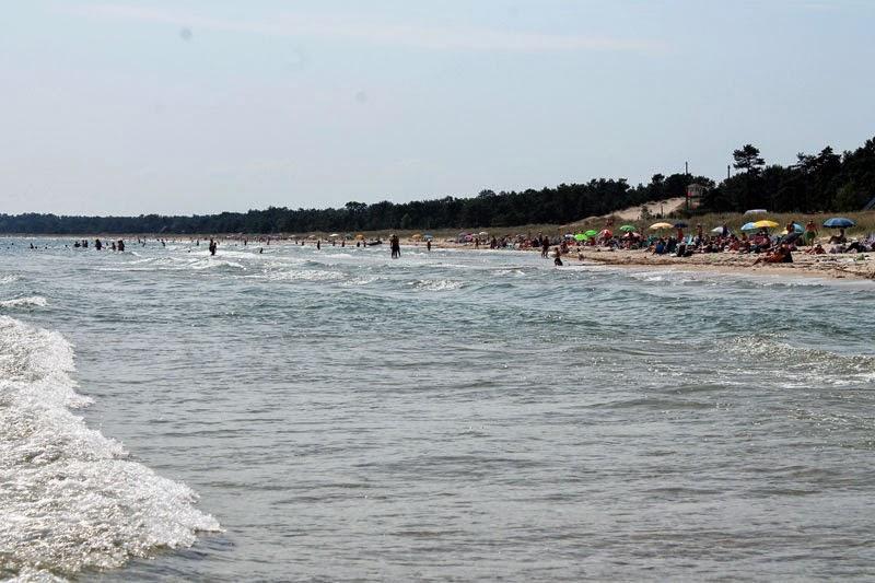 25 luglio al mare, sud di Åhus