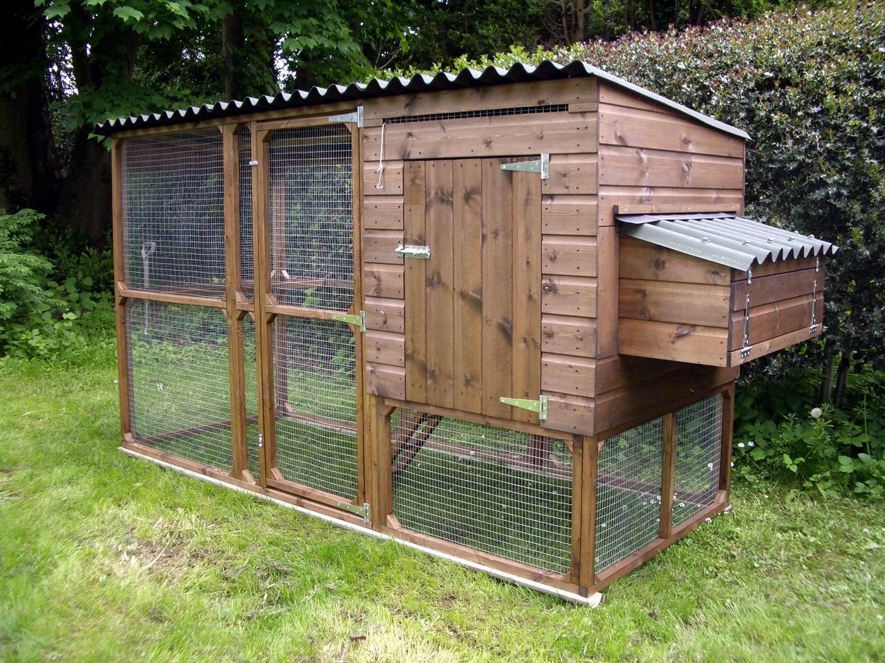 El blog de la elena un blog dulce divertido y for Simple chicken coop plans for 6 chickens