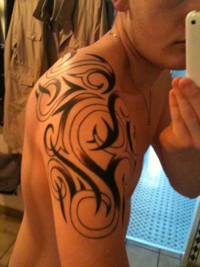 tattoos designs for men shoulder