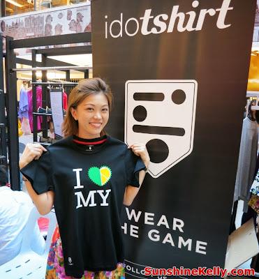 idotshirt, online tshirt design, trshirt design, publika, bijou bazaar, i love malaysia tshirt