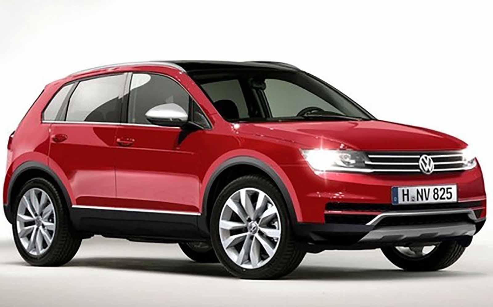 Volkswagen Prepara Ofensiva Com 5 Novos Suv At 233 2017 Car