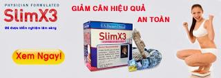 Slim X3 Thuốc giảm cân hiệu quả