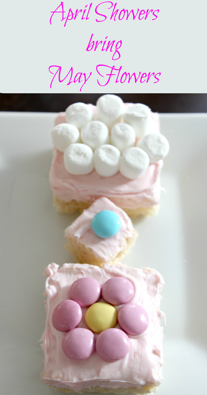 Baby Shower or Bridal Shower Rice Krispies Treat Snack