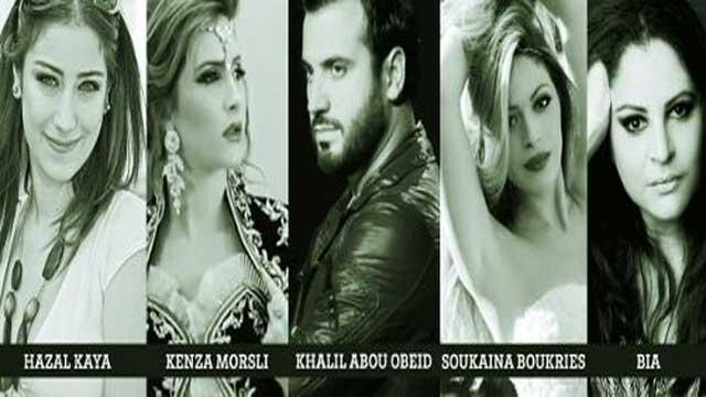 الفنانة اللبنانية بيا تكسب رهان الجمهور و تفوز بمسابقة النجوم