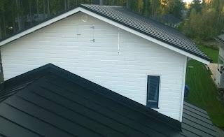 Rakennuspelti Jokinen asensi katon edullisesti ja hyvin