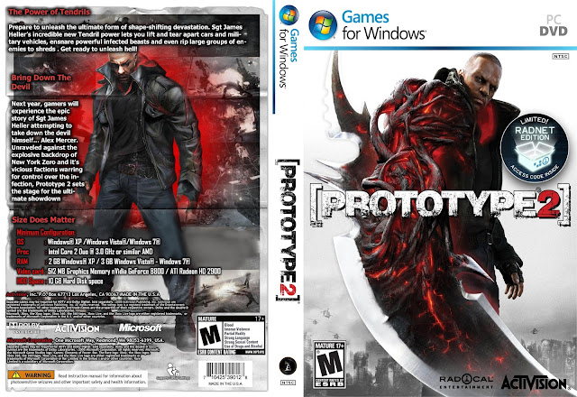 Prototype 2 HD Cover
