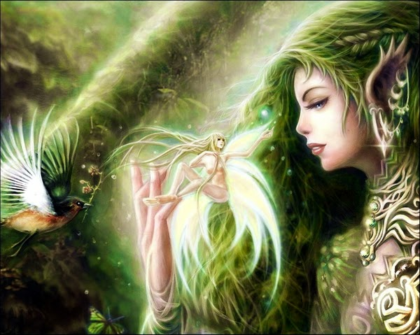 DragonsFaeriesElvestheUnseen   Arts of Great Enchantments Fantasy