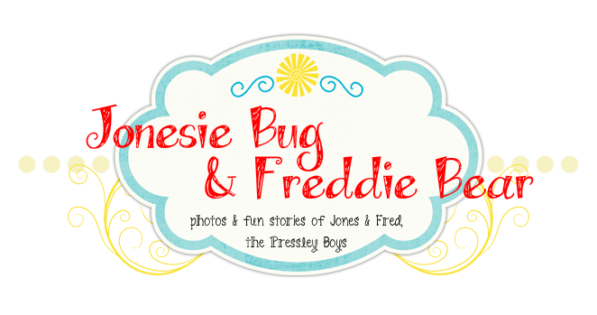 Jonesie Bug and Freddie Bear