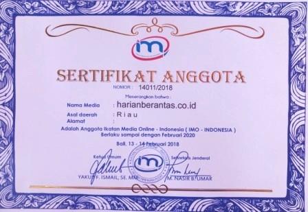 Sertifikat IMO-Indonesia