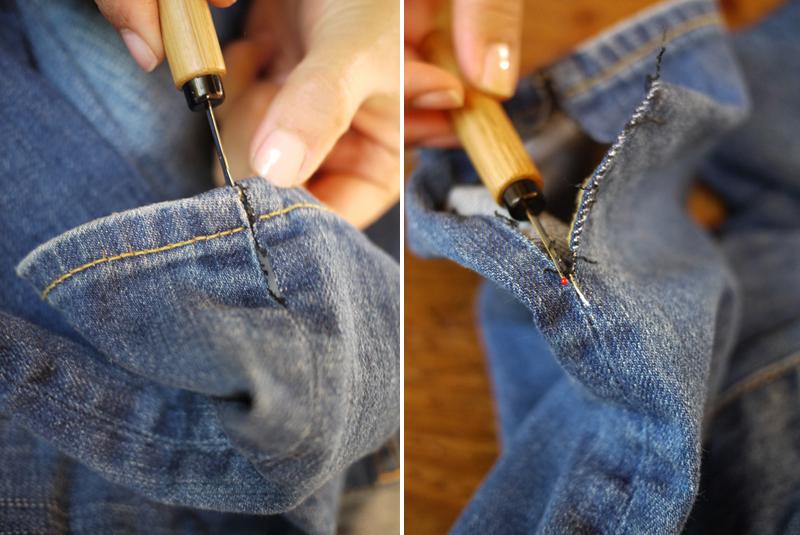 Швы на джинсах своими руками 589