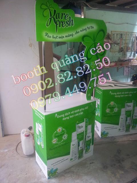 booth bán hàng dược phẩm
