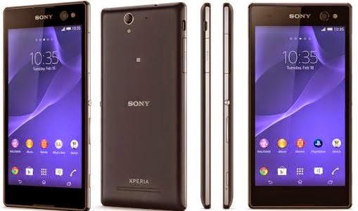 Spesifikasi dan Harga hp Sony Xperia C3 Android Kitkat Murah
