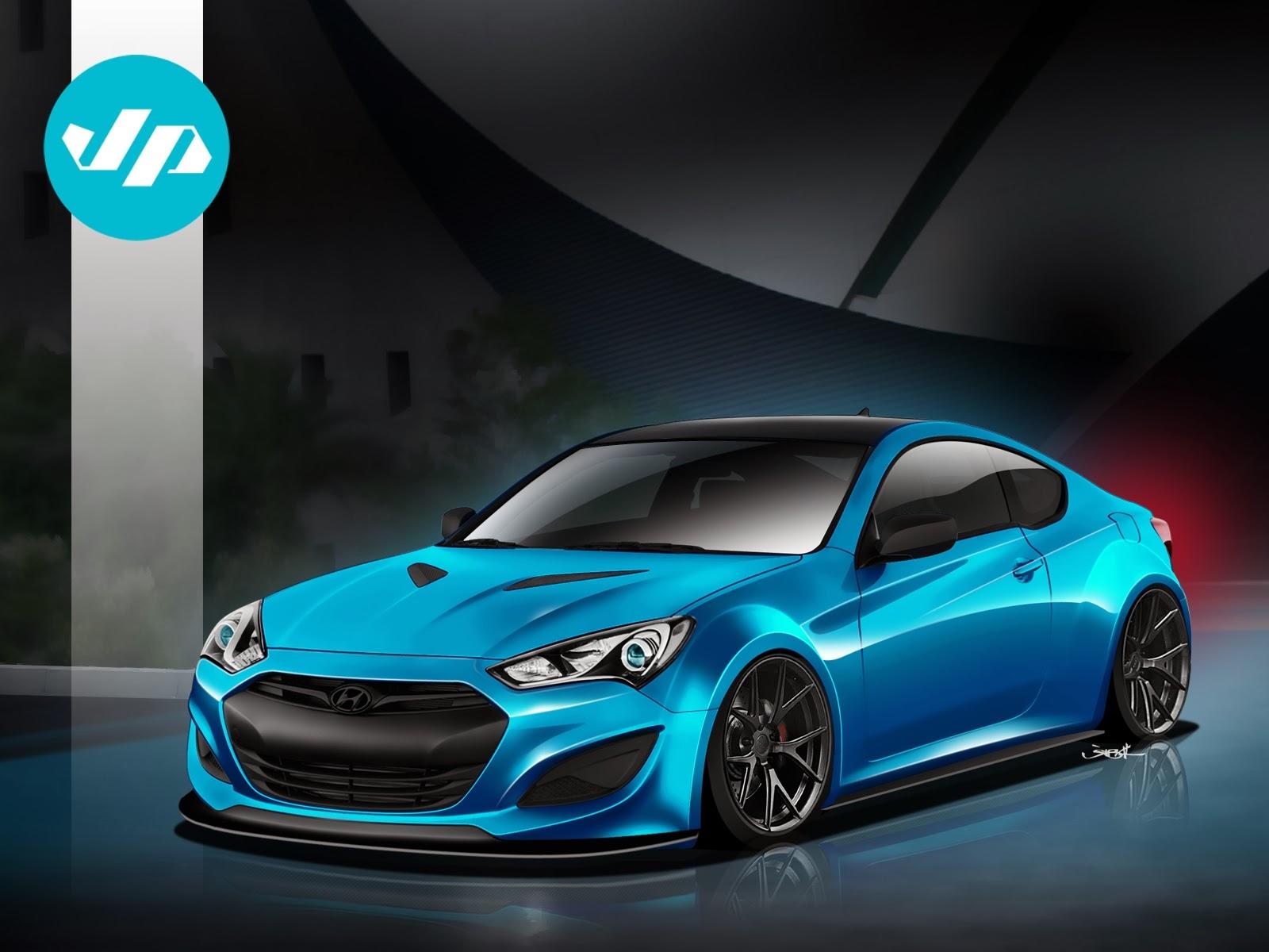 Hyundai sema vehicle preview jp edition genesis coupe