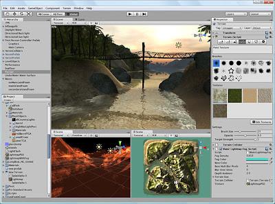 Unity 3D Making Game Screenshots 1