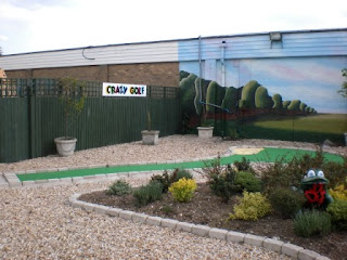Mini Golf at The Golden Palm Resort in Chapel St Leonards, near Skegness