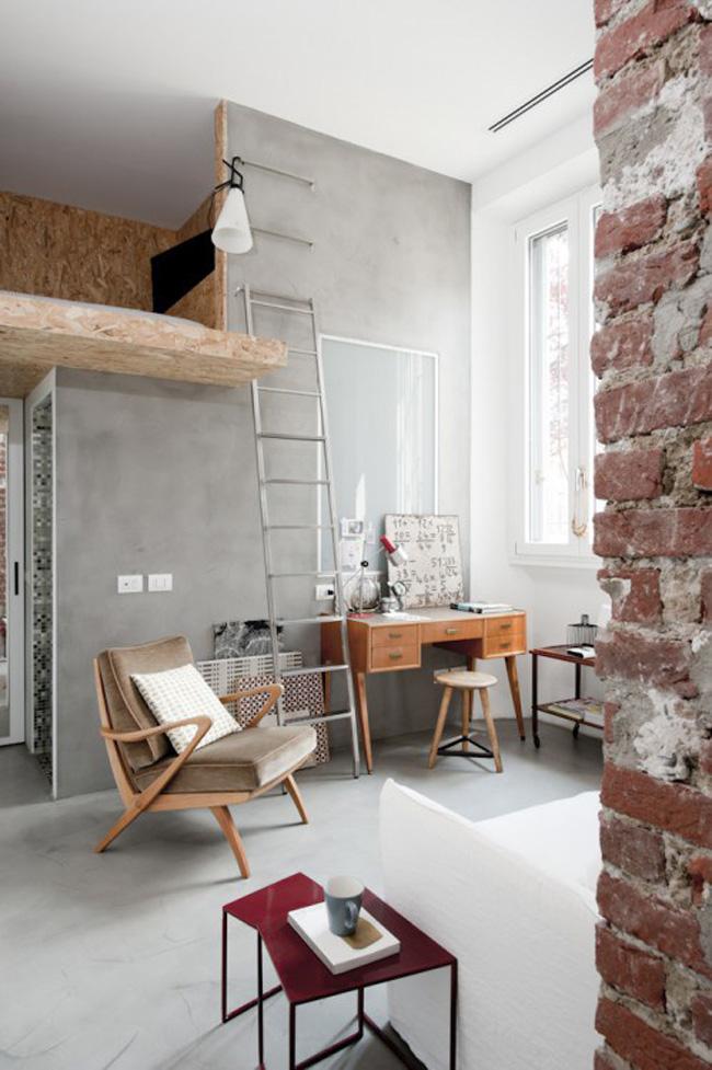 oficina espacio pequeño loft 30m2