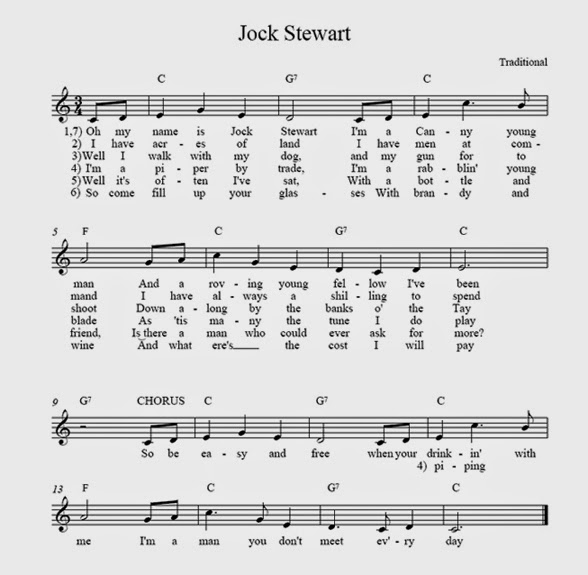 The Other Resurces Box On Right Hand Side Of Blog There You Can Download A Pdf Text And Music Our Folk Club Anthem Jock Stewart