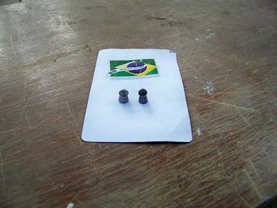 Proporção entre o Chumbo CBC 6.0mm e GAMO Expander 5.5mm.